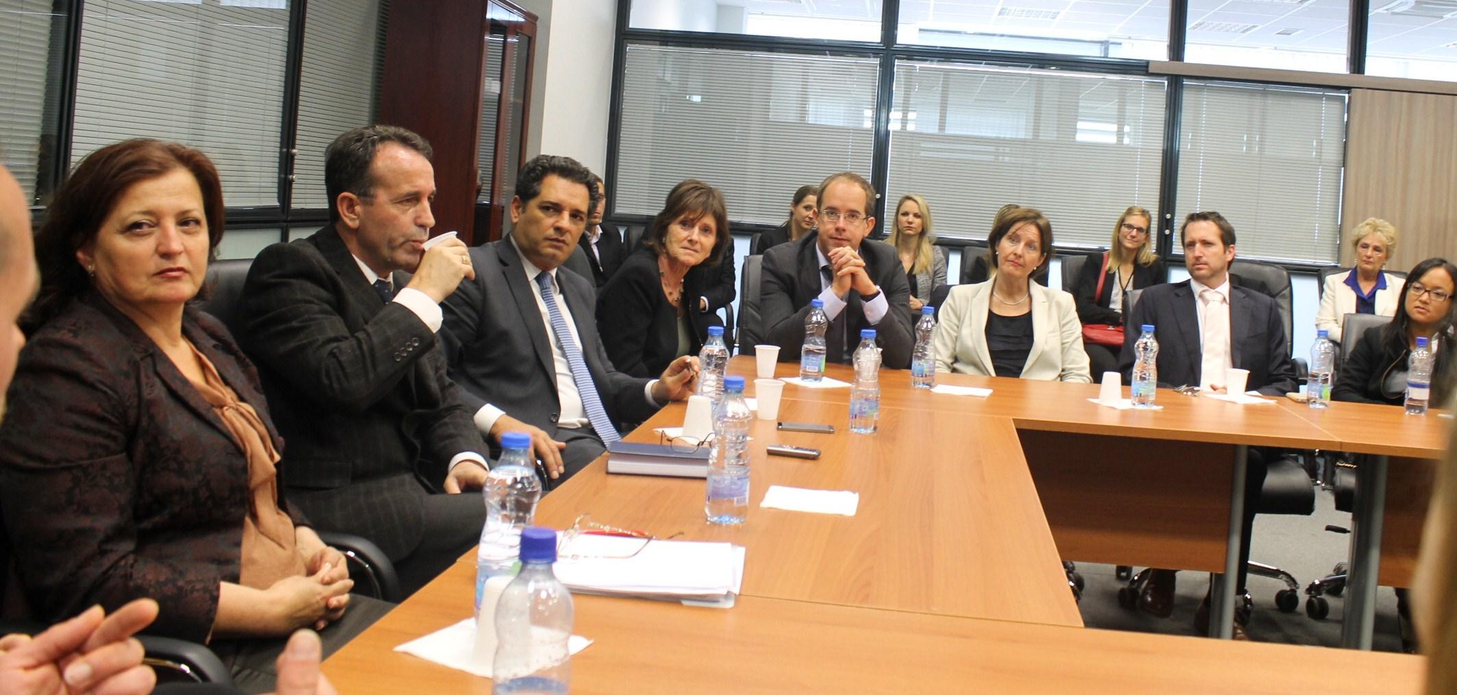 Delegacioni zviceran viziton Gjykatën Supreme