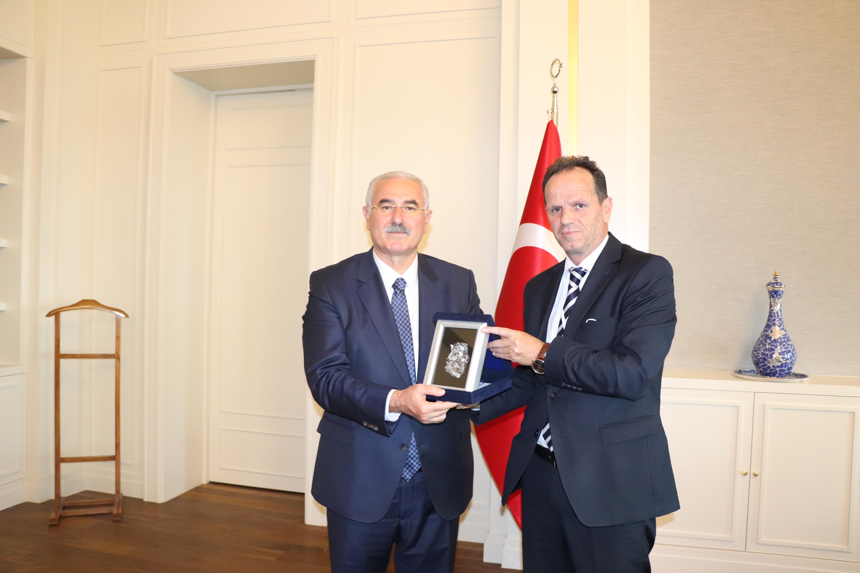 Kryetari i Gjykatës Supreme takon homologun e Gjykatës së Lartë në Turqi